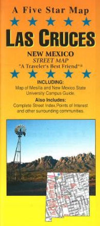 Buy map Las Cruces, New Mexico by Five Star Maps, Inc.