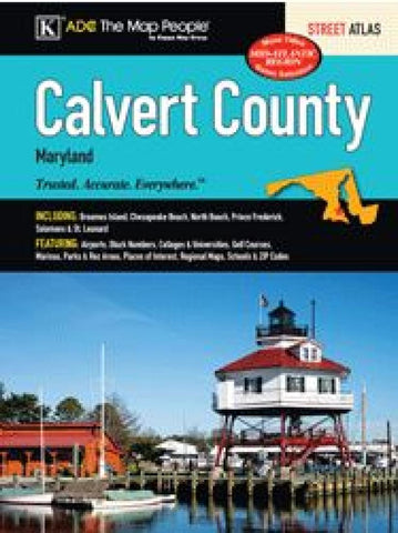 Buy map Calvert County Atlas by Kappa Map Group
