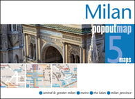 Buy map Milan, Italy, PopOut Map by PopOut Products