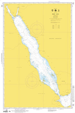 Buy map Red Sea (Omega) (NGA-704-1) by National Geospatial-Intelligence Agency
