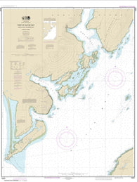 Buy map Alitak Bay-Cape Alitak to Moser Bay (16591-10) by NOAA