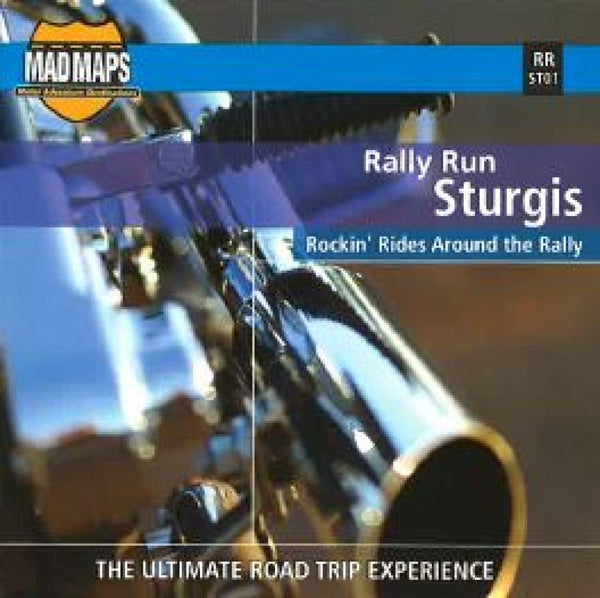 Buy map Rally Run Sturgis by MAD Maps