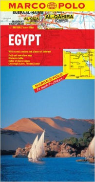 Buy map Egypt by Marco Polo Travel Publishing Ltd