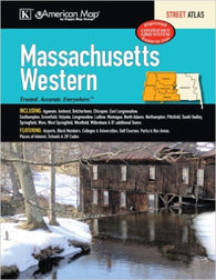 Buy map Massachusetts, Western, Street Atlas by Kappa Map Group