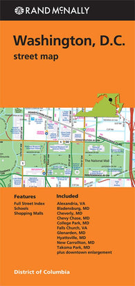District of Columbia YellowMaps Map Store