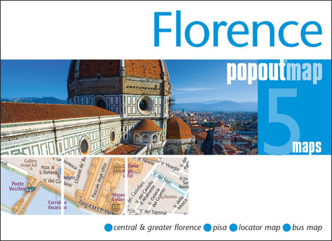 Buy map Florence, Italy, PopOut Map by PopOut Products, Compass Maps Ltd.