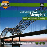 Buy map Memphis, Tennessee, Get Outta Town by MAD Maps