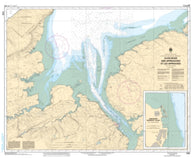 Buy map Avon River and Approaches/et les Approches by Canadian Hydrographic Service