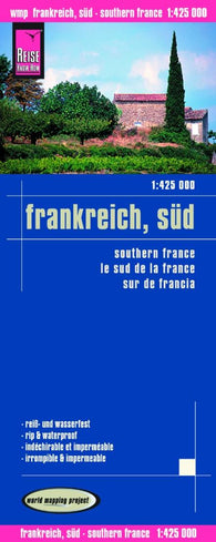 Buy map France, Southern by Reise Know-How Verlag