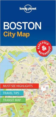 Buy map Boston, Massachusetts City Map by Lonely Planet Publications
