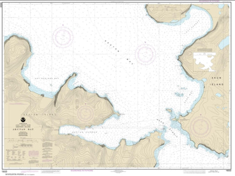 Buy map Akutan Bay, Krenitzin Islands (16532-6) by NOAA