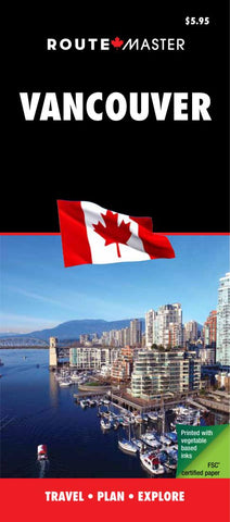 Buy map Vancouver, British Columbia Map by Route Master