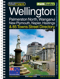 Buy map Wellington and Palm North, New Zealand Atlas by Kiwi Maps