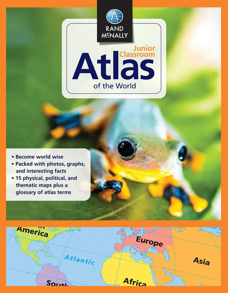 Buy map Classroom Atlas of the World by Rand McNally