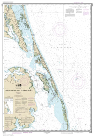 Buy map Currituck Beach Light to Wimble Shoals (12204-38) by NOAA