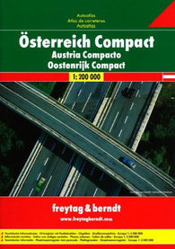 Buy map Austria, Compact Road Atlas, paperback by Freytag-Berndt und Artaria