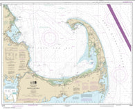 Buy map Cape Cod Bay (13246-40) by NOAA
