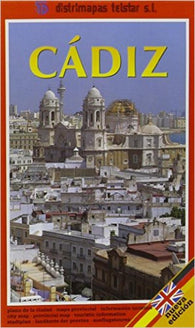Buy map Cadiz, Spain by Distrimapas Telstar, S.L.