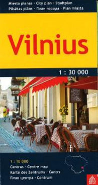 Buy map Vilnius by Jana Seta