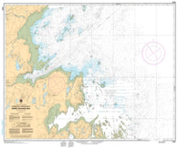 Buy map Approches a/Approaches to Hopes Advance Bay by Canadian Hydrographic Service