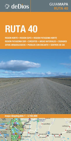 Buy map Route 40, Argentina by deDios