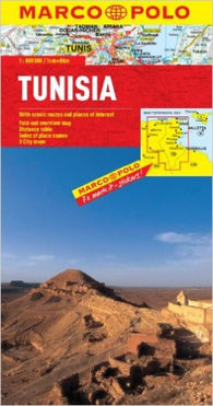 Buy map Tunisia by Marco Polo Travel Publishing Ltd