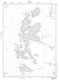 Buy map Halmahera And Adjacent Islands - Malay Archipelago (NGA-73016-4) by National Geospatial-Intelligence Agency