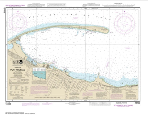 Buy map Port Angeles (18468-19) by NOAA