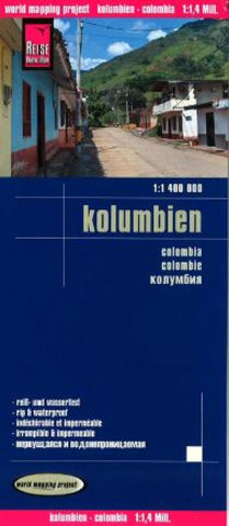 Buy map Columbia by Reise Know-How Verlag