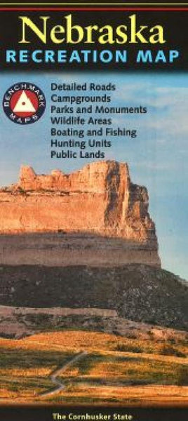 Buy map Nebraska Recreation Map by Benchmark Maps