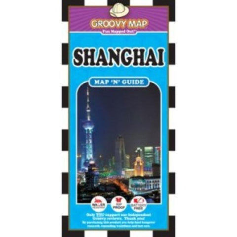 Buy map Shanghai, China, Map n Guide by Groovy Map Co.