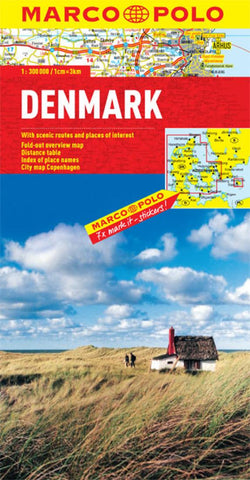 Buy map Denmark by Marco Polo Travel Publishing Ltd