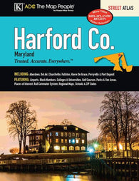 Buy map Harford County, MD, Street Atlas by Kappa Map Group