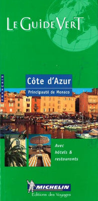 Buy map Cote dAzur, Green Guide, French Edition by Michelin Maps and Guides