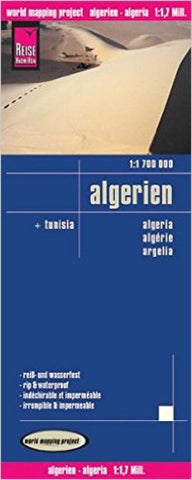 Buy map Algeria and Tunisia by Reise Know-How Verlag