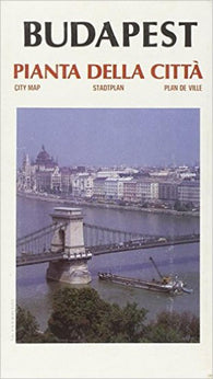 Buy map Budapest, Hungary by Litografia Artistica Cartografica