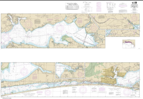 Buy map Intracoastal Waterway West Bay to Santa Rosa Sound (11385-28) by NOAA