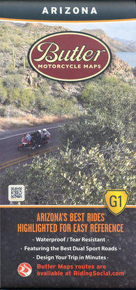 Buy map Arizona G1 Map by Butler Motorcycle Maps