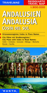 Buy map Andalucia and Costa del Sol, Spain by Kunth Verlag
