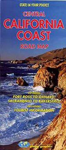 Buy map California Coast, Central by Global Graphics