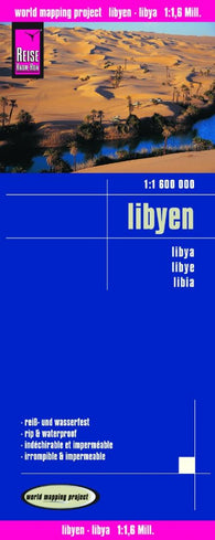 Buy map Libya by Reise Know-How Verlag