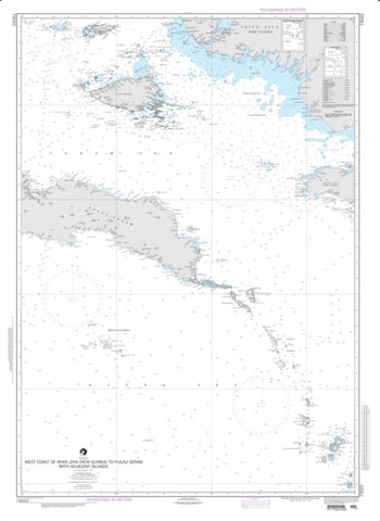 Buy map West Coast Of Irian Jaya (New Guinea) To Pulau Seram (NGA-73022-4) by National Geospatial-Intelligence Agency