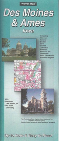Buy map Des Moines, Iowa by The Seeger Map Company Inc.