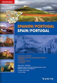 Buy map Spain & Portugal by Kunth Verlag