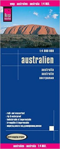 Buy map Australia by Reise Know-How Verlag