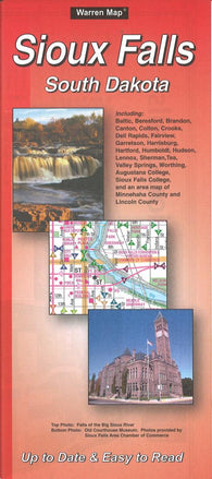 Buy map Sioux Falls, South Dakota by The Seeger Map Company Inc.
