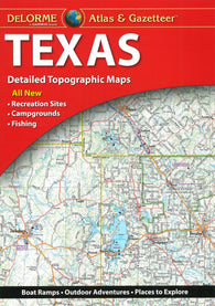 Buy map Texas Atlas and Gazetteer by DeLorme