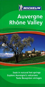 Buy map Auvergne and the Rhone Valley, Green Guide by Michelin Maps and Guides