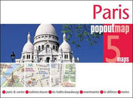 Buy map Paris, France, PopOut Map by PopOut Products