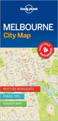 Buy map Melbourne, Australia, City Map by Lonely Planet Publications
